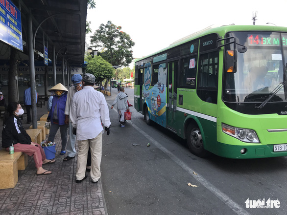 Ho Chi Minh City suspends all public buses for two weeks