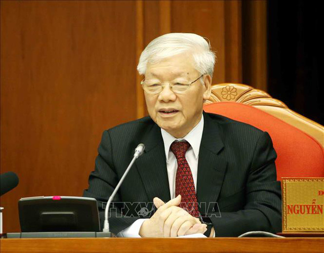 Top Vietnamese leader urges solidarity against COVID-19