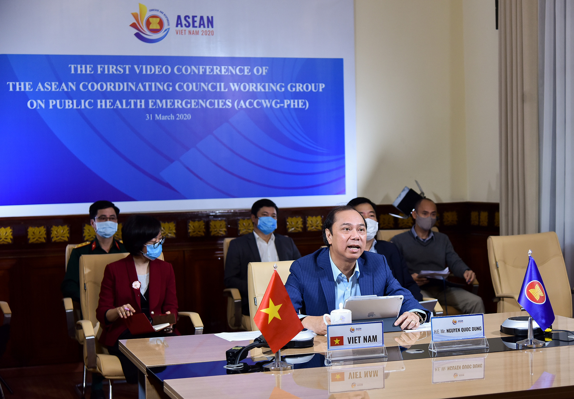 ASEAN pledges to keep market open amid COVID-19 pandemic