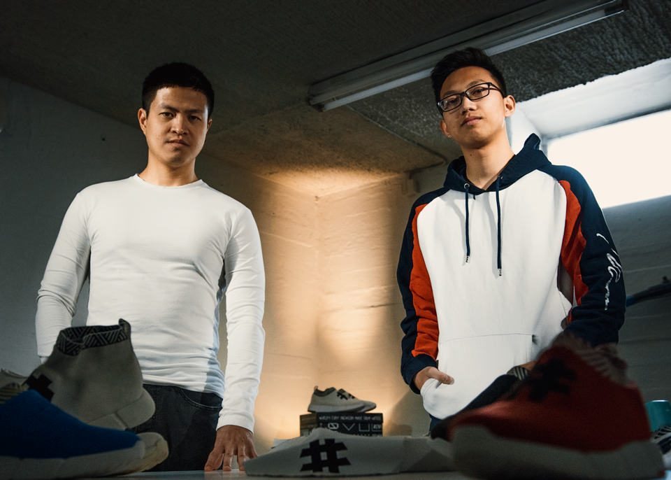 Vietnamese make sneakers from coffee grounds, plastic waste