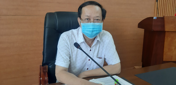 Nguyen Van Hai, director of the Department of Health in Quang Nam Province, is pictured on April 3, 2020. Photo: Le Trung / Tuoi Tre