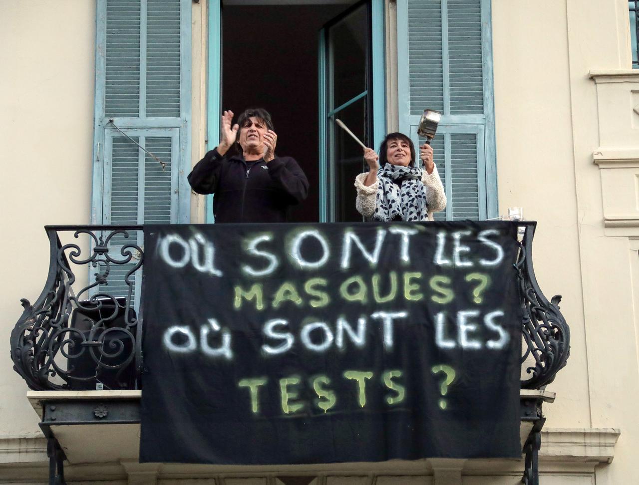 French coronavirus death toll hits new high as nursing home tally swells