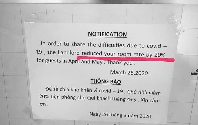 Expats laud Vietnamese landlords for discounting rent to share COVID-19 burden