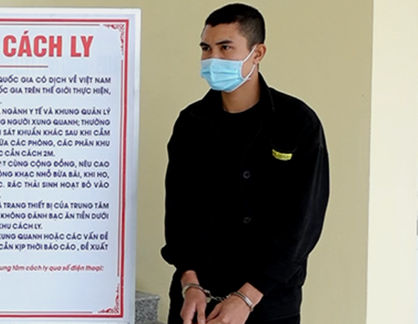 Wanted Vietnamese arrested at COVID-19 quarantine camp