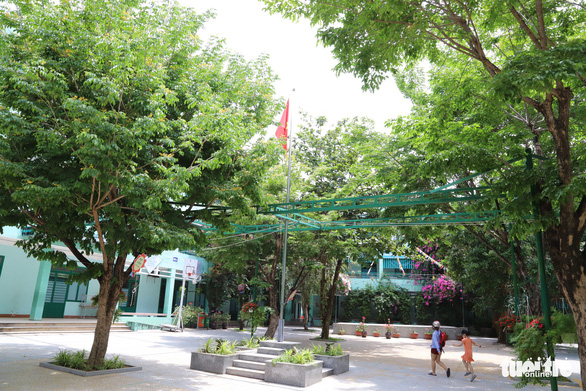 Nui Thanh Elementary School's campus in Hai Chau District, Da Nang City, Vietnam. Photo: D.C. / Tuoi Tre