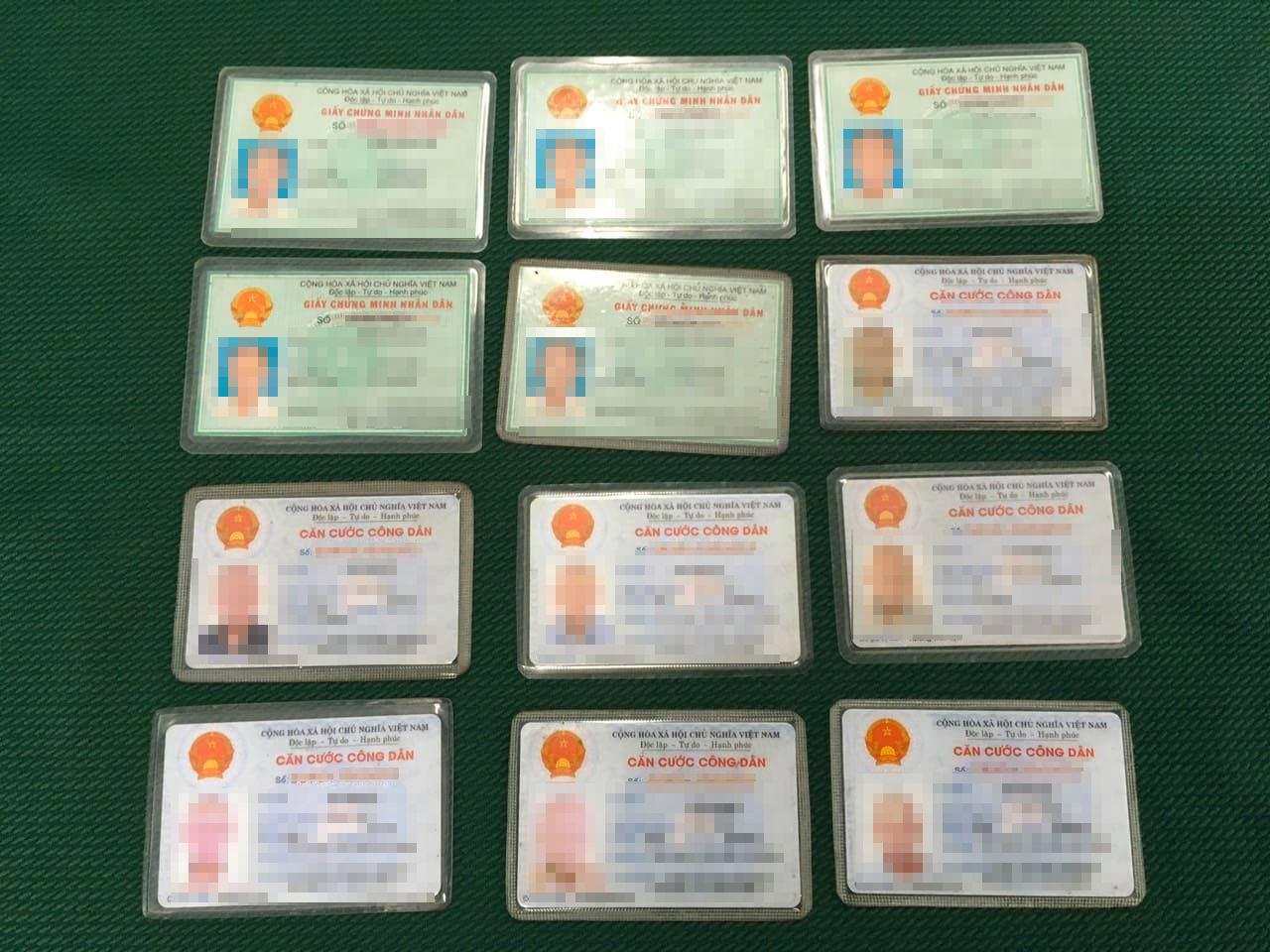 Saigon 'beggar' found with 12 ID cards