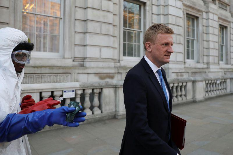 UK will review how it handled COVID-19 when time is right, minister says