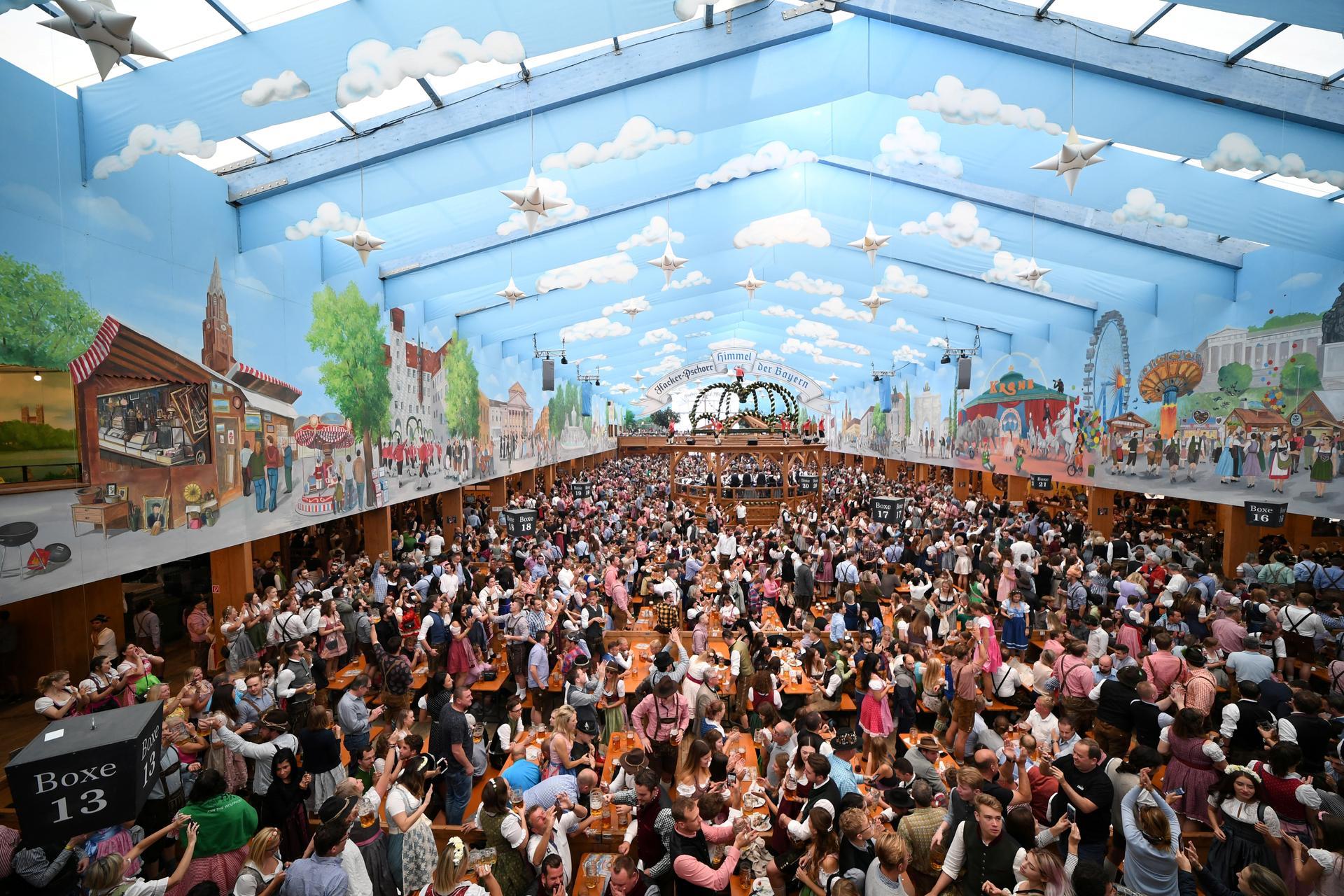 Germany cancels Oktoberfest beer festival due to coronavirus