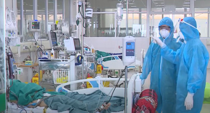 Critical COVID-19 patients show slight improvement in Vietnam