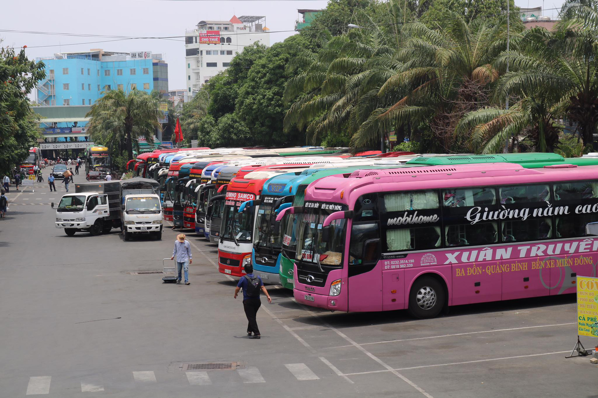 Long-haul buses come back on stream in Vietnam