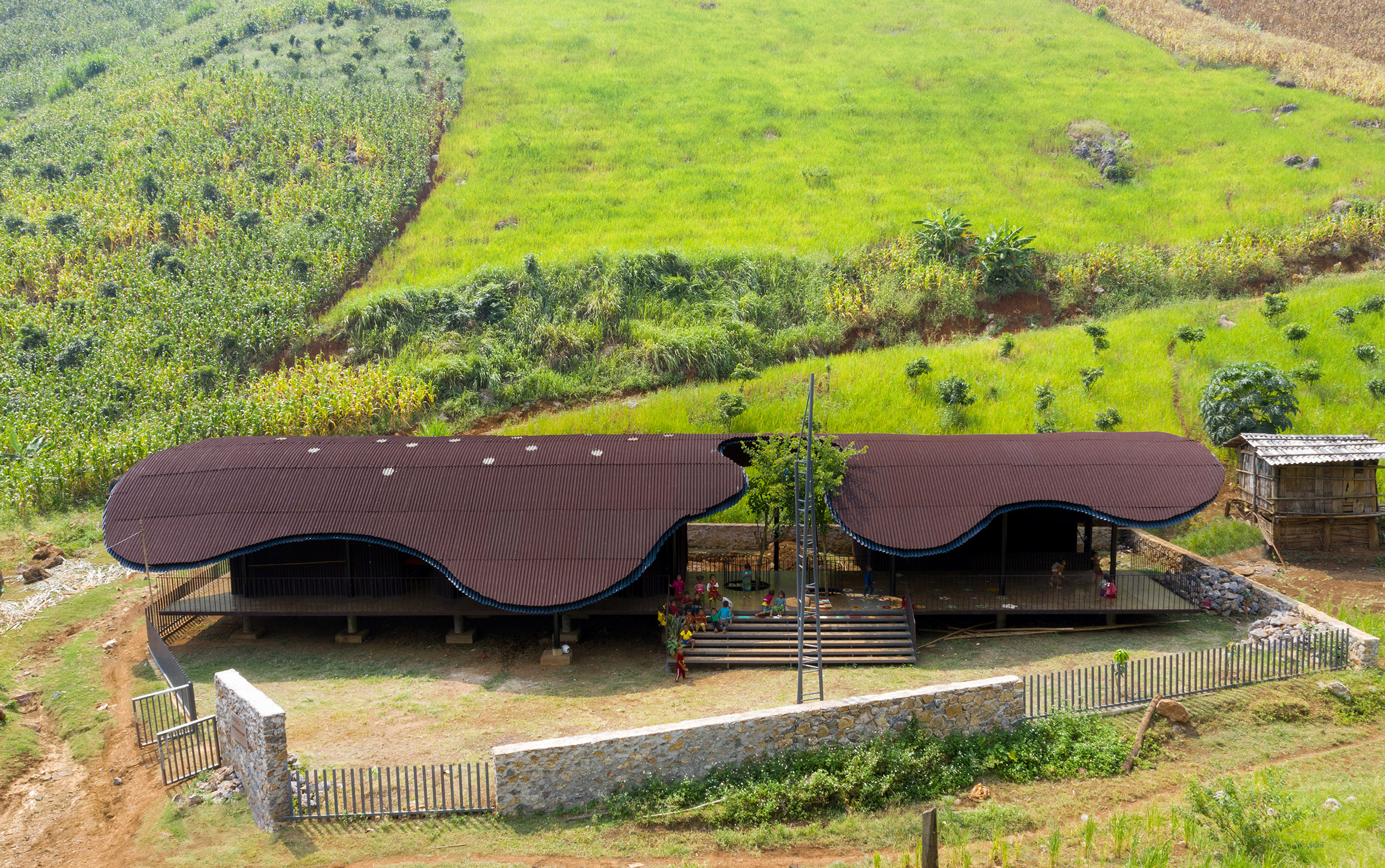 Rural Vietnamese preschool among world's top 10 new architecture projects