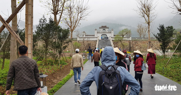 People visit the Yen Tu Monuments and Landscape Complex in Quang Ninh Province, Vietnam in this undated photo. Photo: Tien Thang / Tuoi Tre