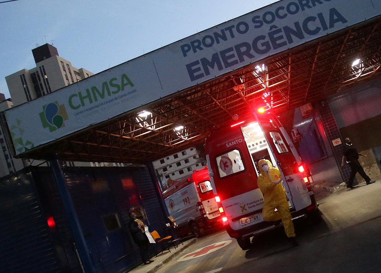 Brazil passes Italy and Spain in confirmed coronavirus cases