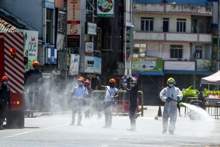 Spraying disinfectants can be 'harmful', says WHO