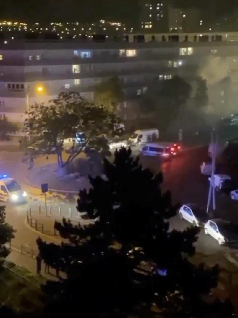 Youths clash with police in Paris suburb of Argenteuil