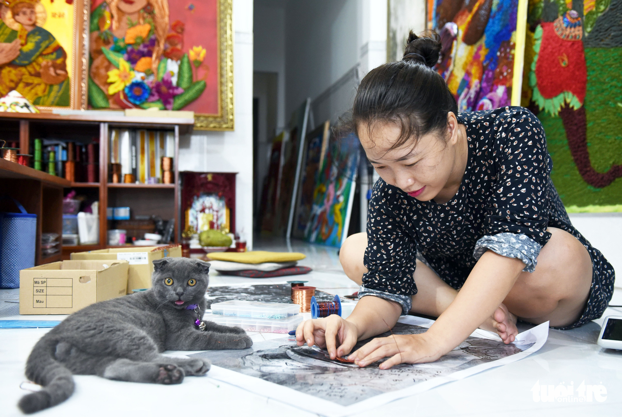 Vietnamese woman uses art to create jobs for Saigon's disabled community