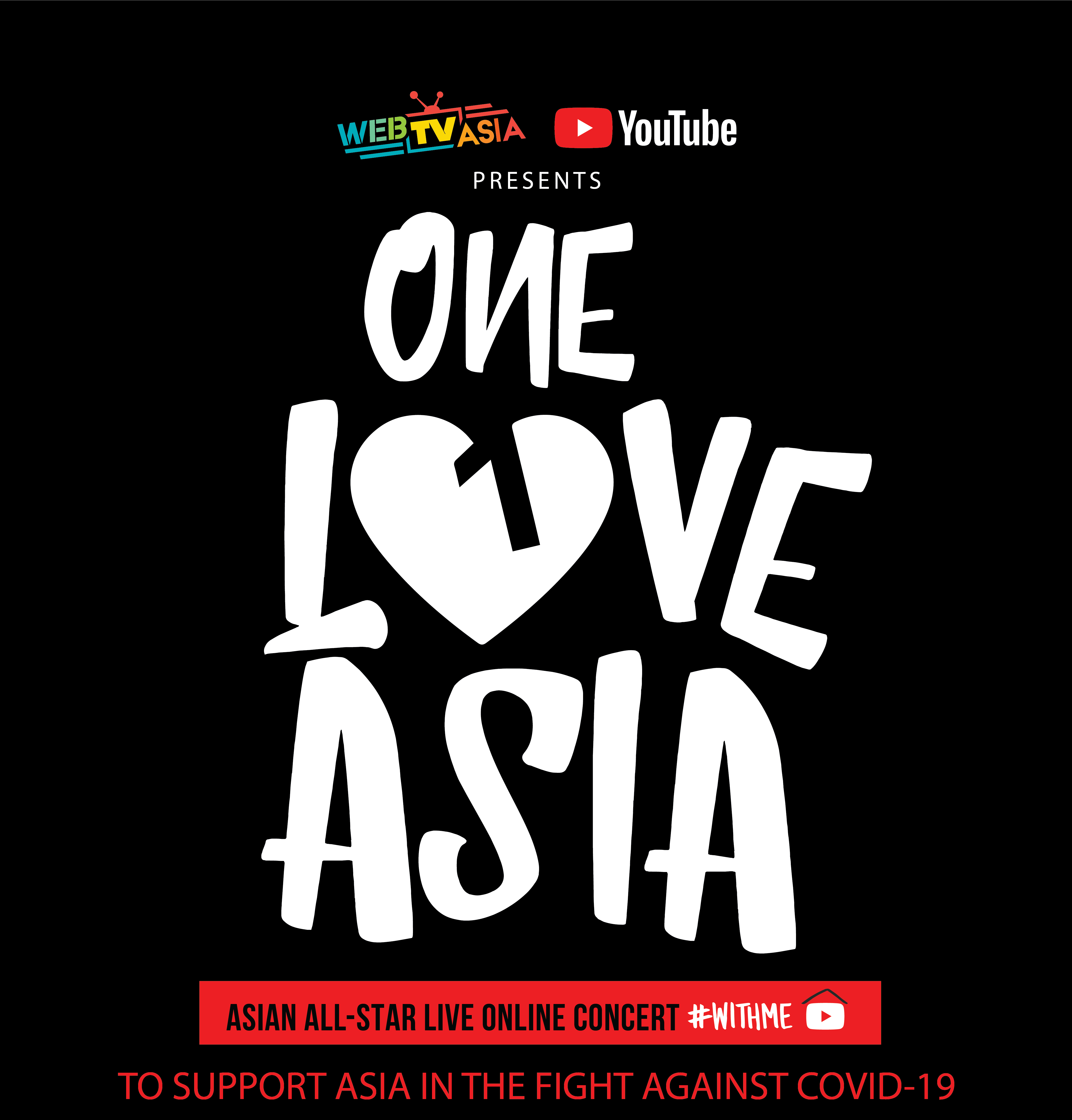 WebTVAsia, YouTube announce 'One Love Asia' live concert in support of UNICEF