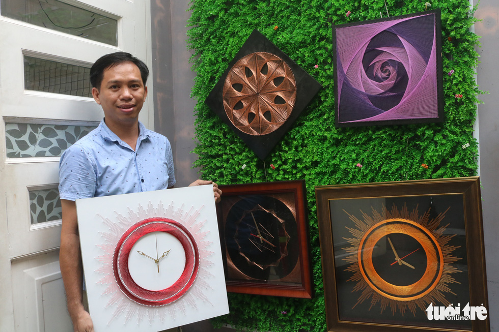 Vietnamese man teaches himself string art