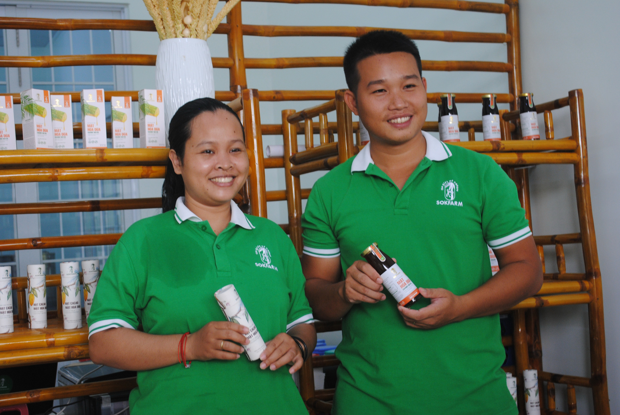 Vietnamese ethnic woman revives rural coconut planting community with pioneering coconut flower sap