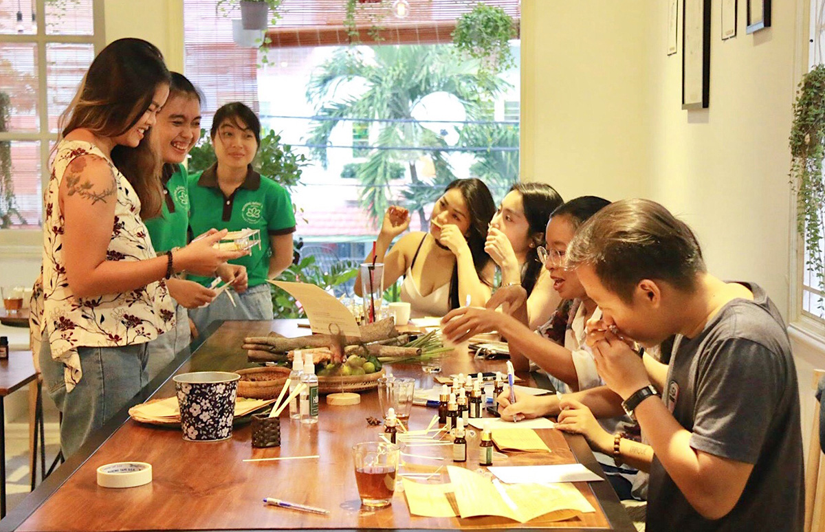 The essentials of an essential oil company in Vietnam