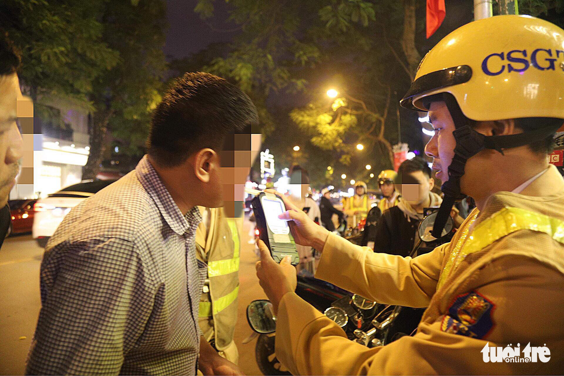 Nearly 10,000 drunk-driving cases booked in Vietnam traffic police's intensive campaign