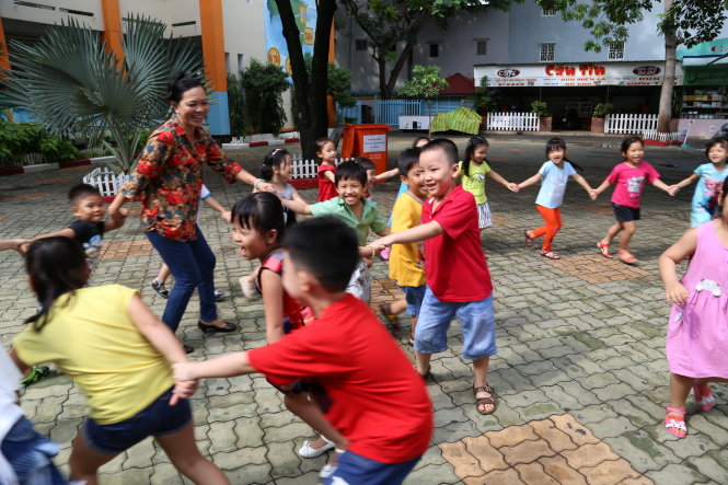 A grand day out for Vietnamese children