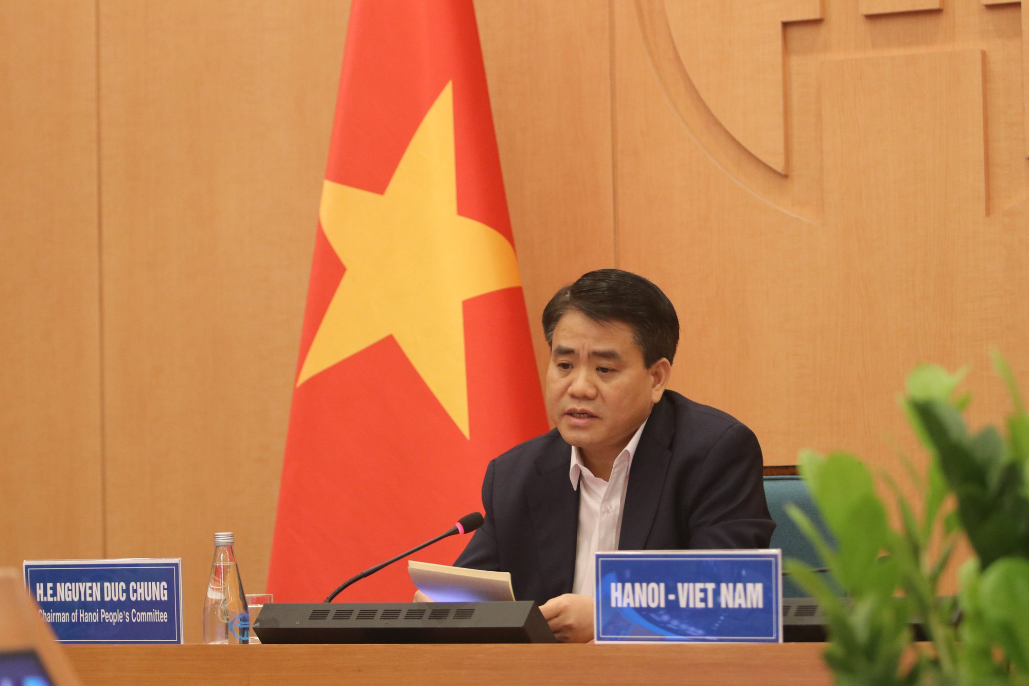 Vietnam sacrifices economic benefits to protect people from COVID-19: Hanoi chairman