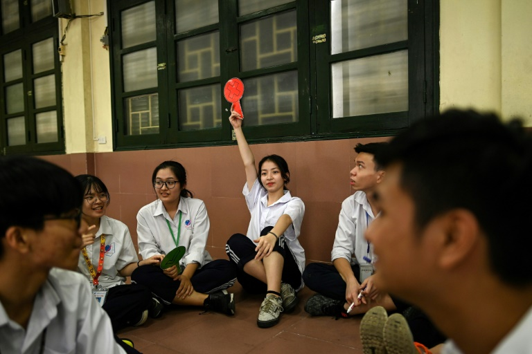 Vietnam has a young population and their sexual values have vaulted the conservative barriers of a Communist country, with dating apps, condoms and abortion pills easily available, but the generation gap has left young people without information. Photo: AFP
