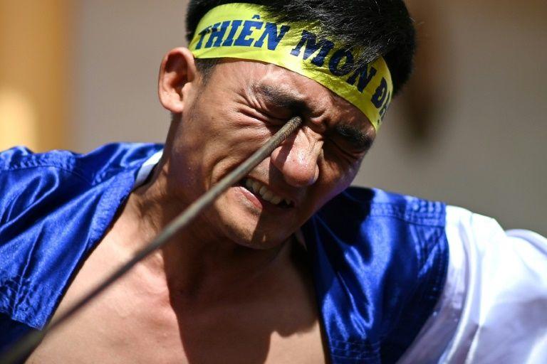 Ancient eye-popping martial art gains popularity in modern Vietnam