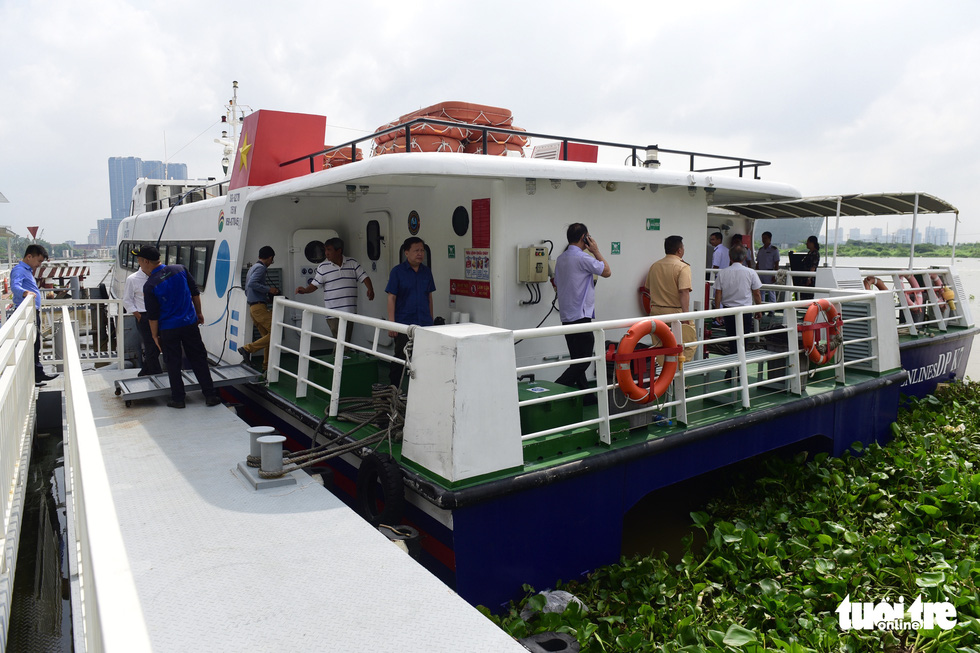 New express boat link on Saigon River to enter service in July