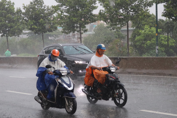 Vietnam's first storm in 2020 causes heavy rain in Ho Chi Minh City
