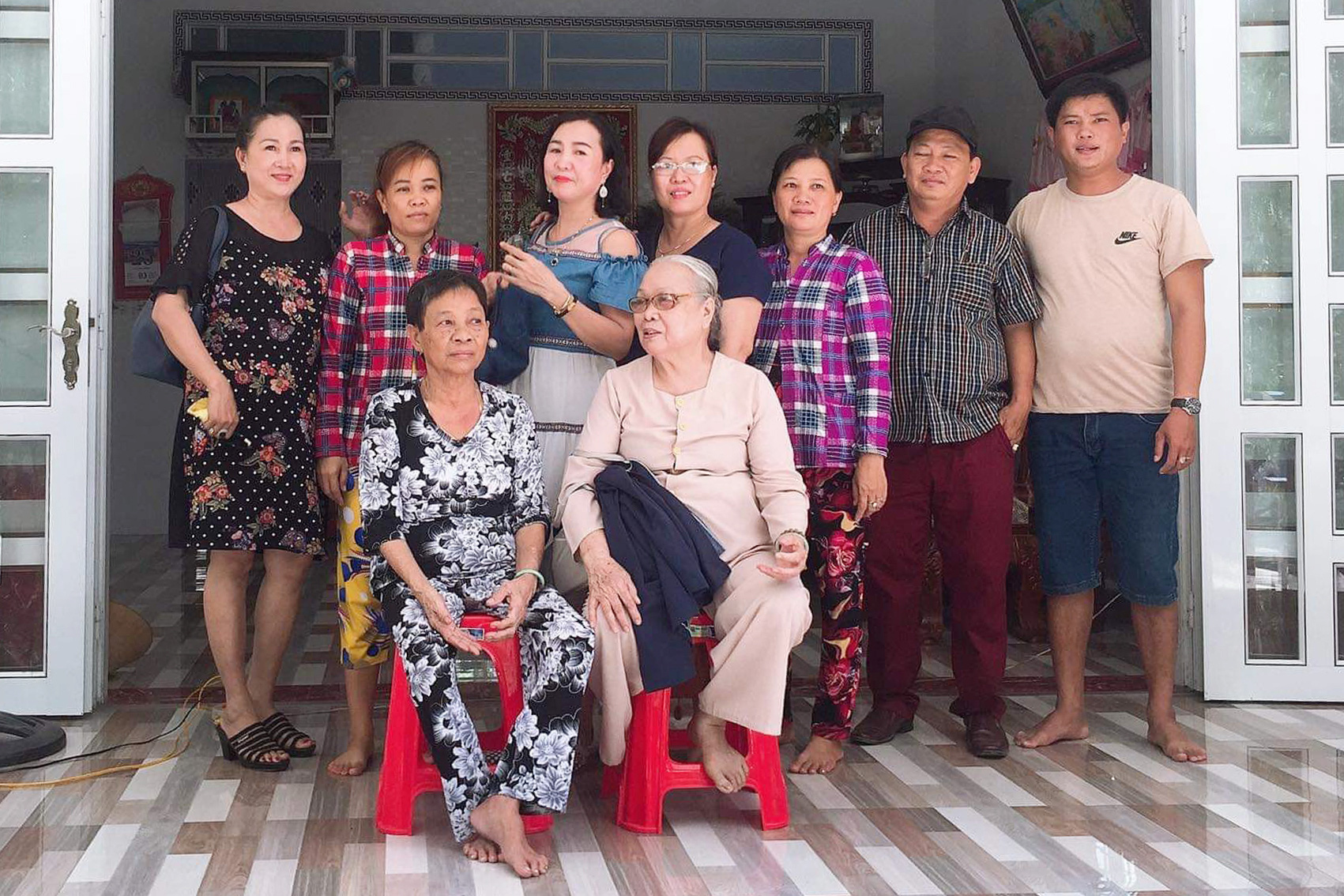Back from the dead: Vietnamese woman returns home after 50 years