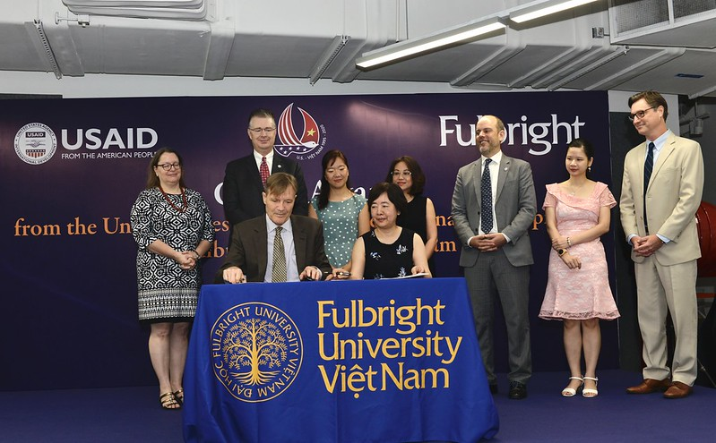 USAID awards $4.65mn grant to Fulbright University Vietnam