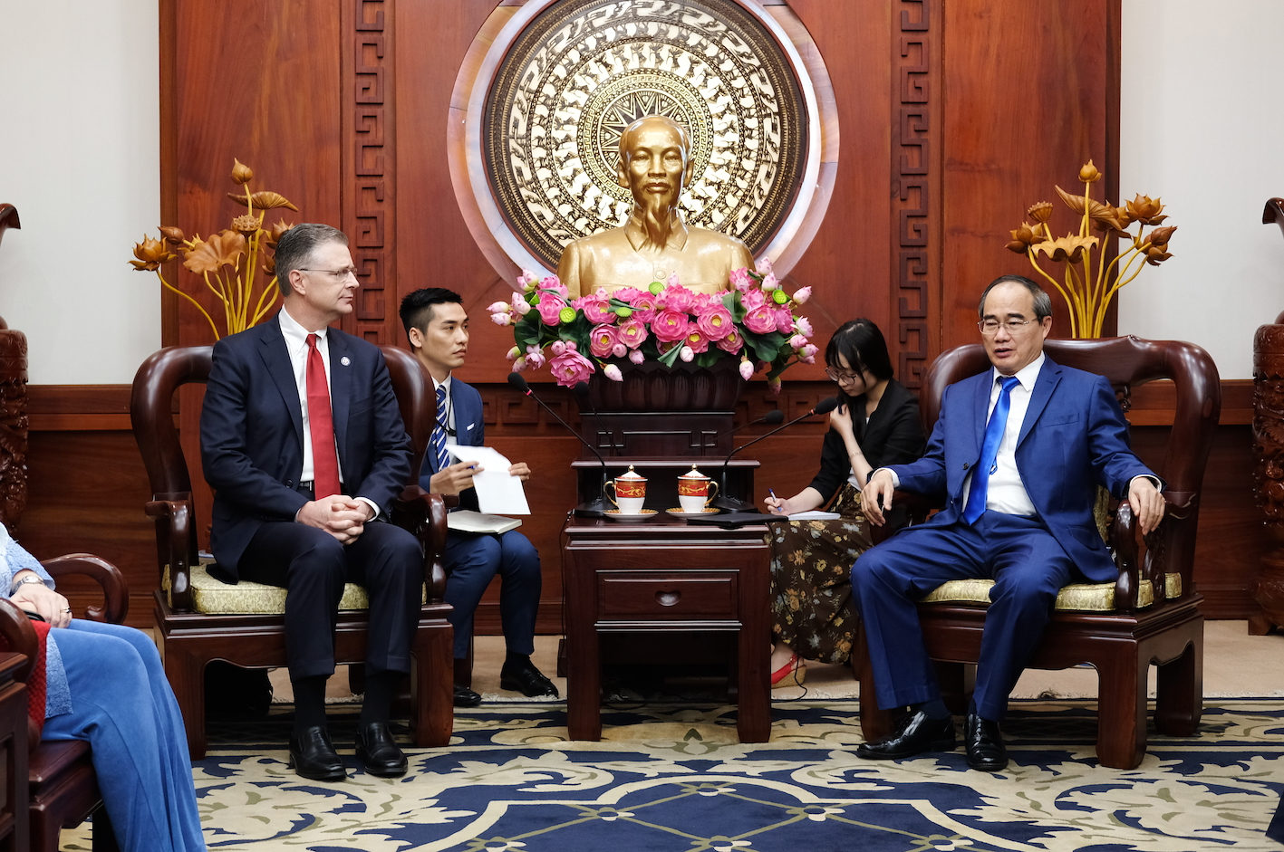 Ho Chi Minh City courts US investment in new 'Eastern City'
