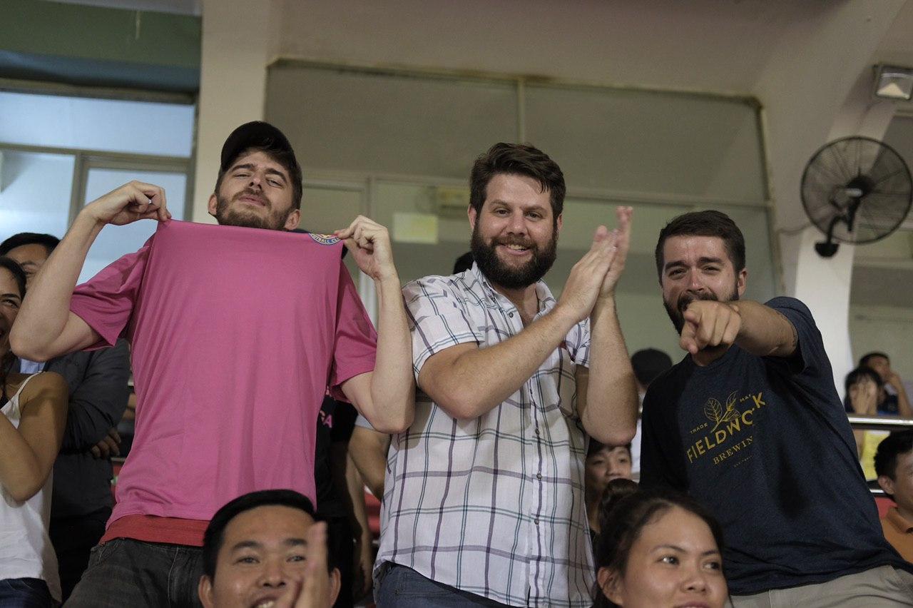 'Go Saigon, go!': Foreigners liven up stadium in Vietnamese football league game