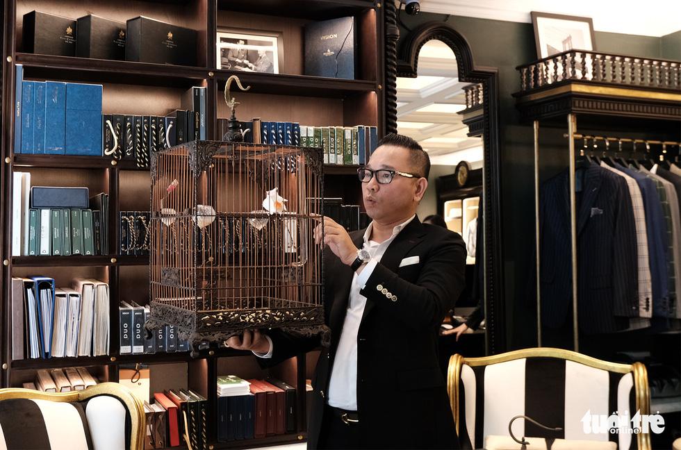 Hanoi man keeps ornamental birds a prized collection