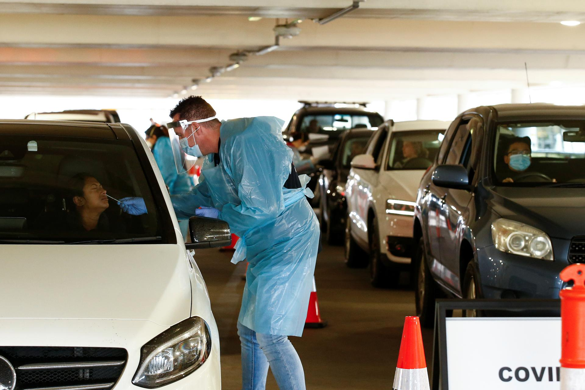 Australia sees biggest daily rise in COVID-19 cases in two months