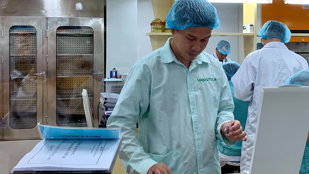 COVID-19 vaccine development ahead of schedule in Vietnam