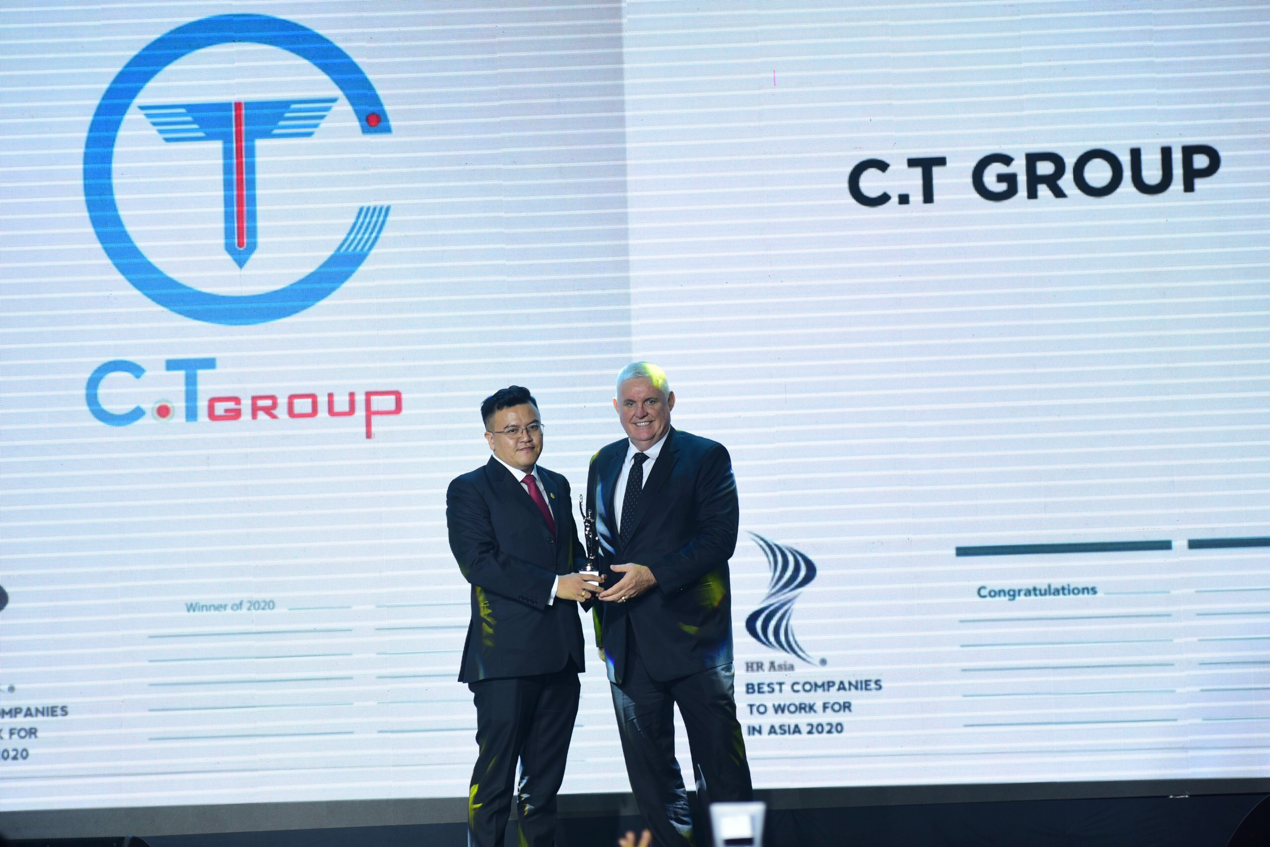 C.T Group receives 'Best Companies to Work For in Asia' award