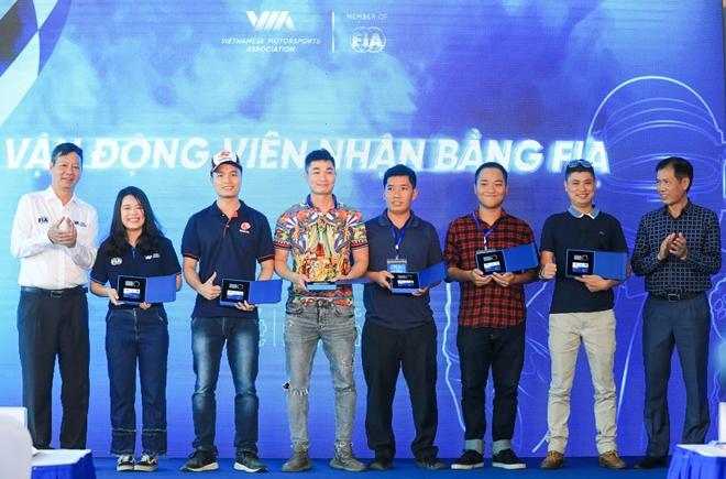 Two Vietnamese teens get certified internationally in motorsport