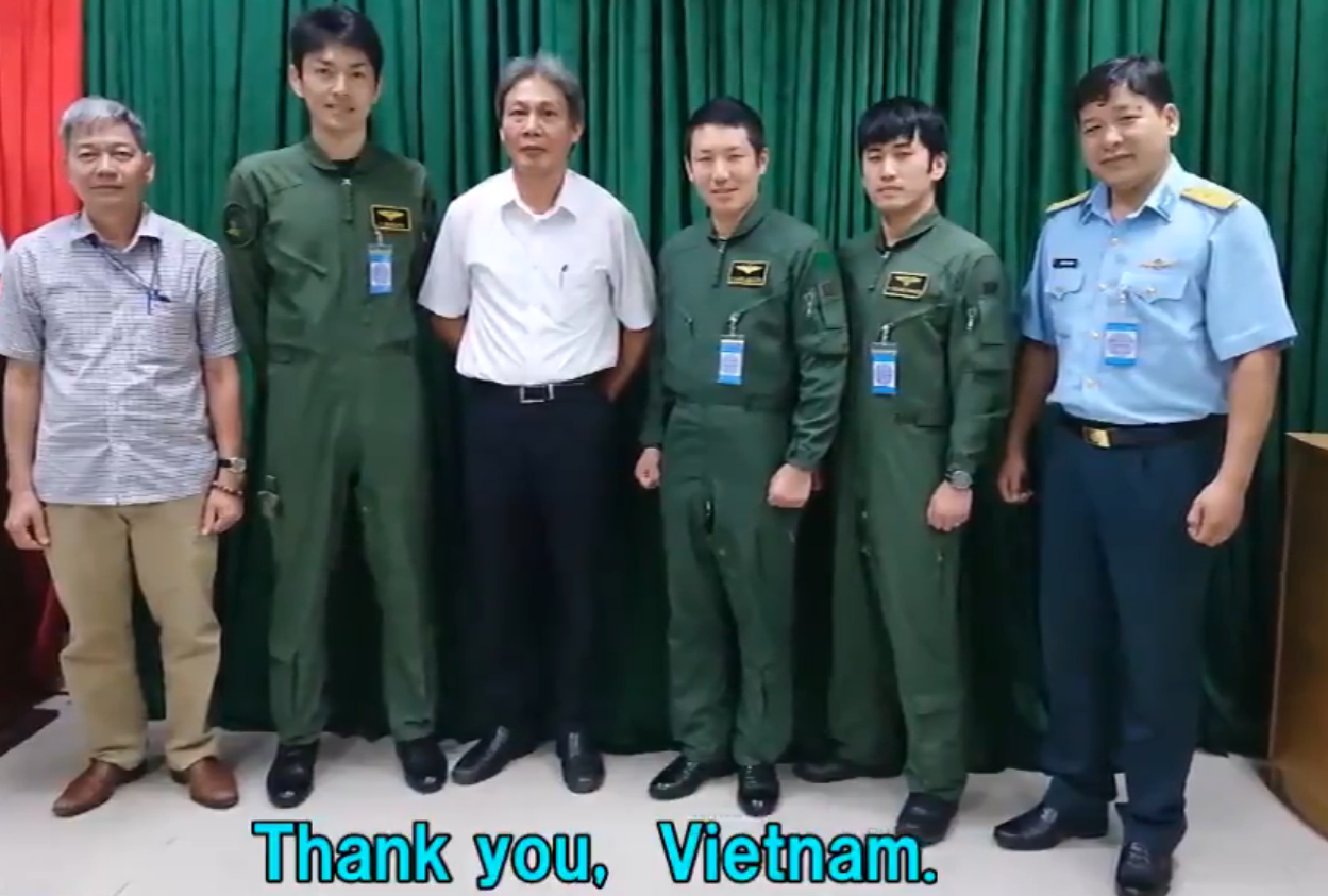 Japan thanks Vietnam for supporting crew members of military aircraft