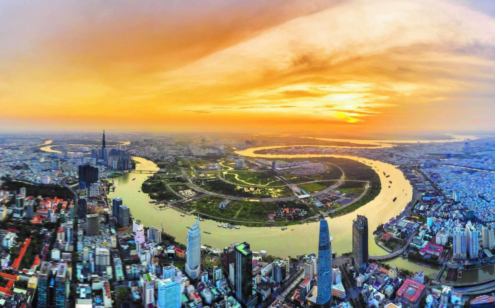 The city of tomorrow in Saigon