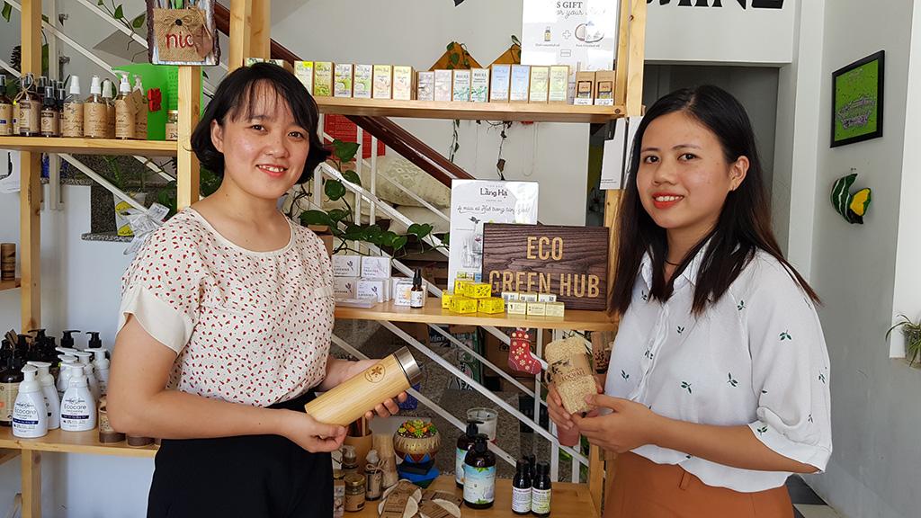 Vietnam women shake up consumer patterns with 'green' business