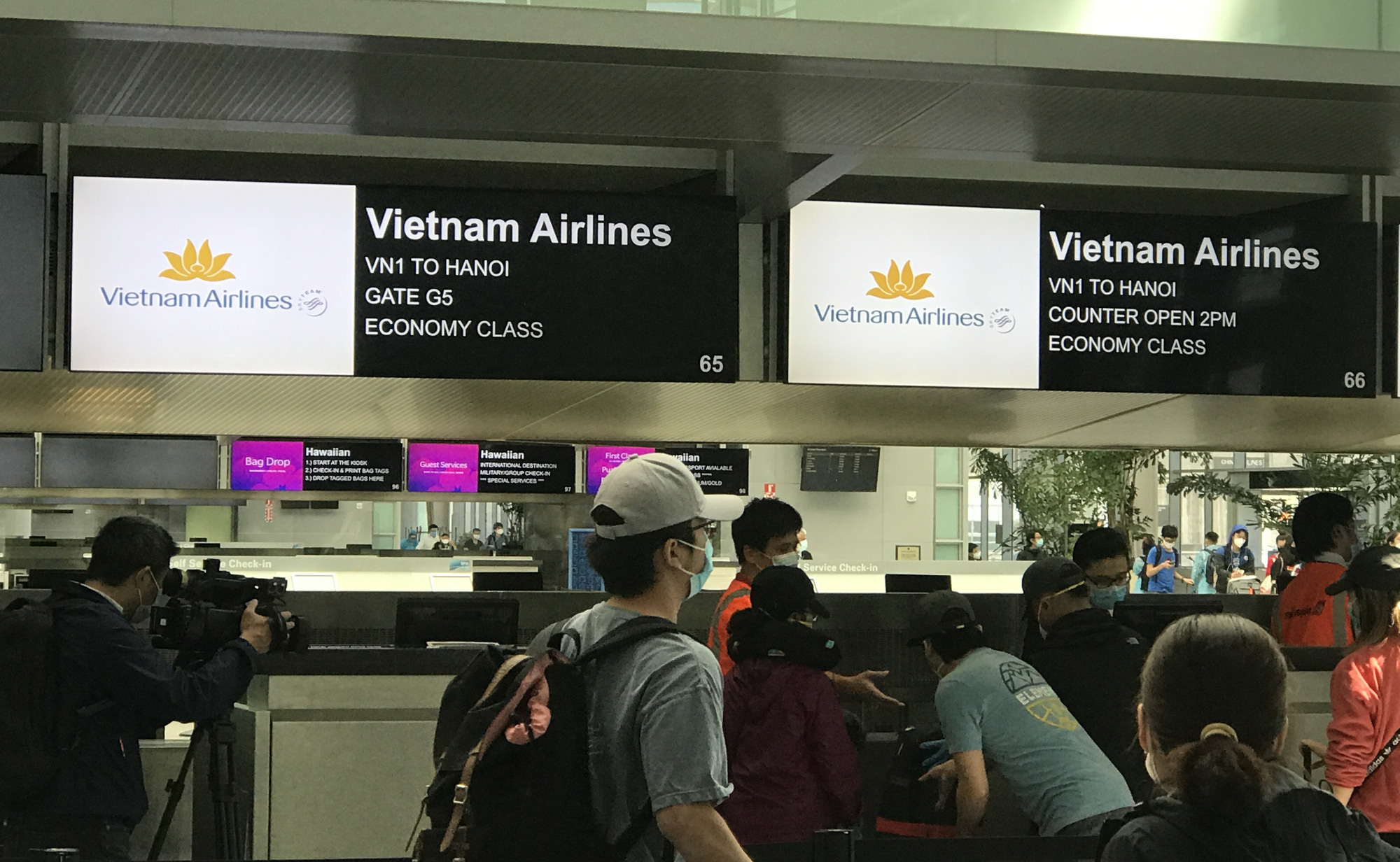 346 Vietnamese citizens brought home from US