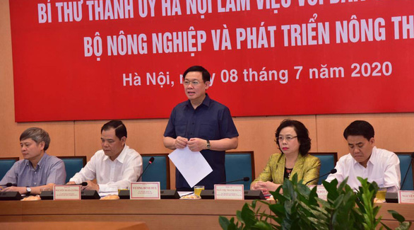 Hanoi pushes to resume planning of dike road, urban area along Red River