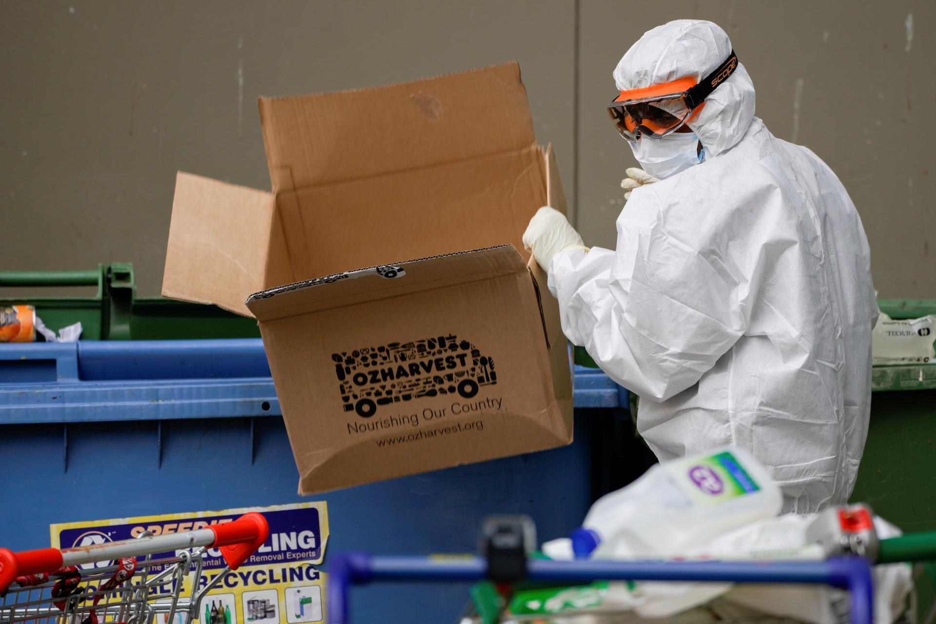 Australia's Victoria state marks week of triple-digit coronavirus cases