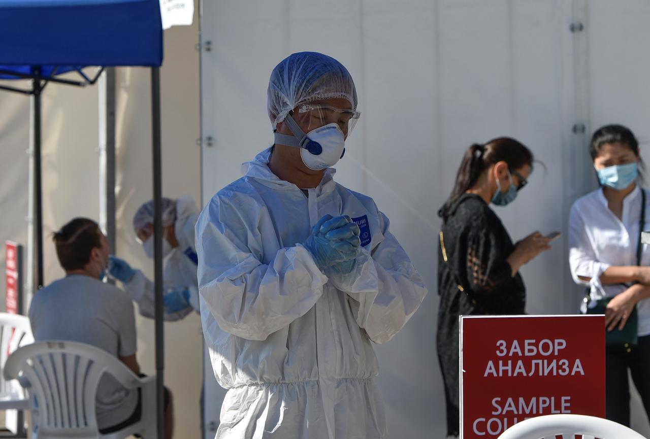 WHO's Ryan says pneumonia in Kazakhstan 'on our radar'