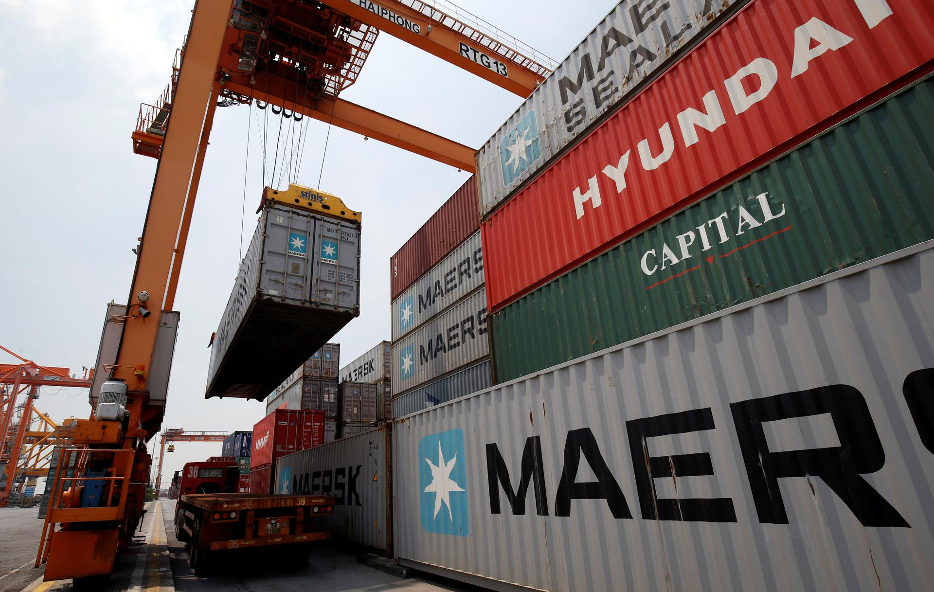 Vietnam H1 trade surplus $5.46 bln vs $1.72 bln surplus in H1 2019: customs