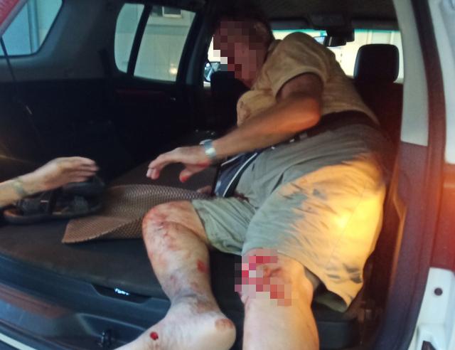 British man, praised for blocking wrong-way driver in Vietnam, injured in road crash