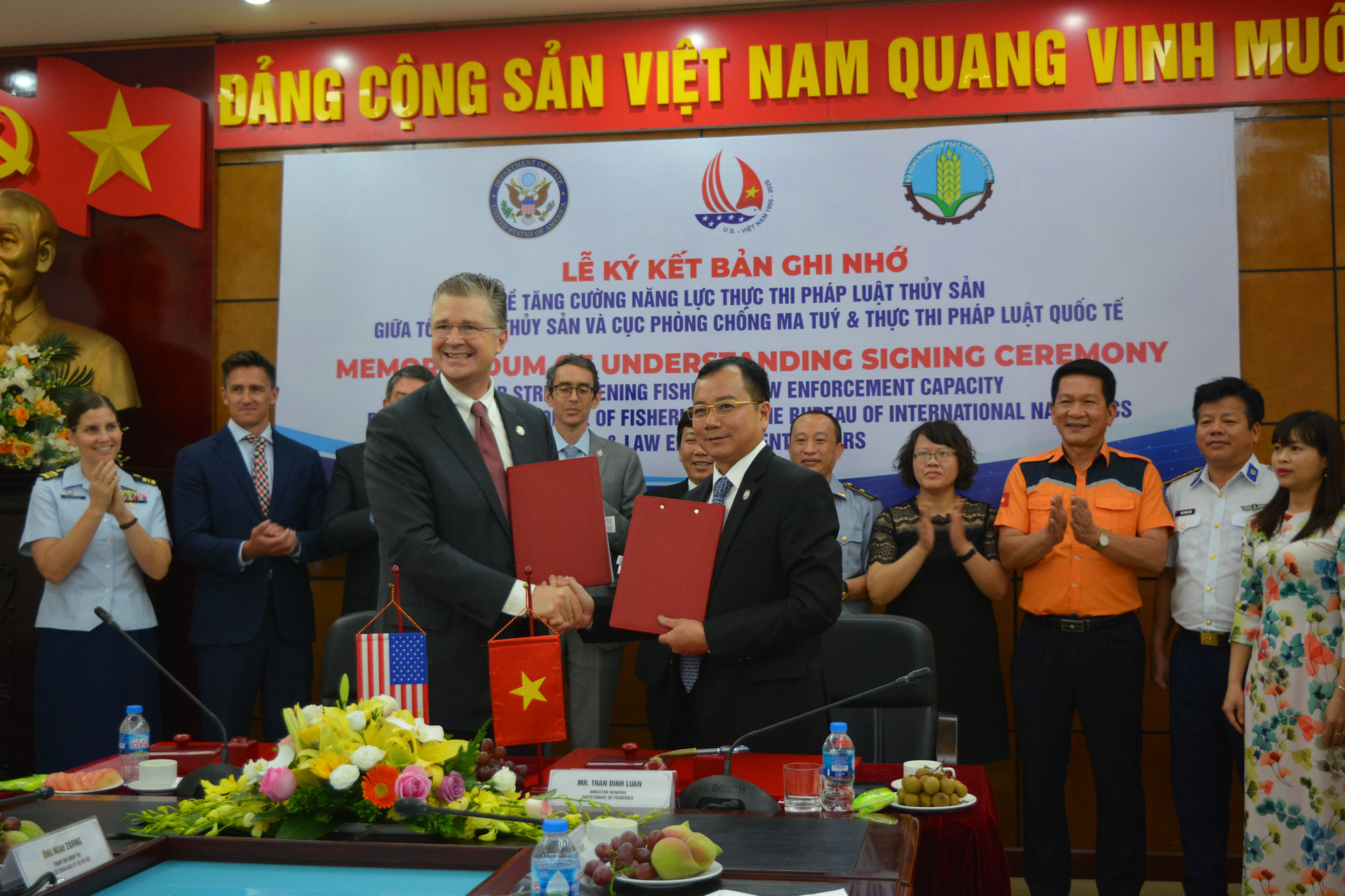 US to support Vietnamese fishermen against illegal threats at sea